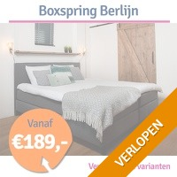 Boxspring Berlijn