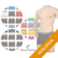 6 of 12-pack Pierre Calvini boxershorts
