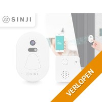 Sinji M1 Smart WiFi deurbel met camera