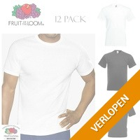 12-pack Fruit of the Loom T-shirts