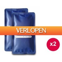 1DayFly Sale: set van 2 hot & cold packs