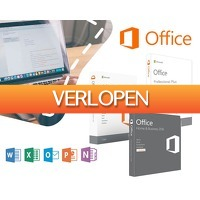1DayFly Sale: Microsoft office 2016 voor mac of windows