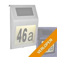 Solar huisnummer verlichting