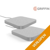 2 x Griffin PowerBlock draadloze oplader