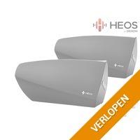 2 x Heos by Denon multiroom speaker