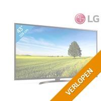 LG 43 inch 4K Ultra HD Smart TV   webOS   HDR   43UK6470PLC