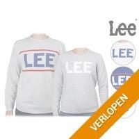 Lee Logo Crew sweater