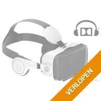 Virtual Reality bril met 3D geluid