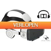 MargeDeals.nl: Virtual Reality bril met 3D geluid