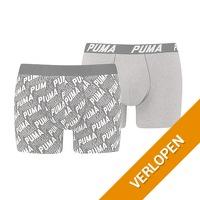 2 x Puma Basic Boxer Infinity boxershort