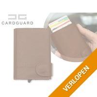 Card Guard uitschuifbare portemonnee