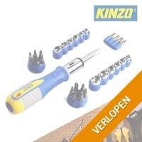 34-delige Kinzo bit en dopsleutelset