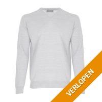 Casual Friday pullover met v-hals