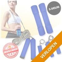 5-delige fitness set