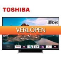 Groupdeal: Toshiba Smart TV 4 K Ultra WiFi