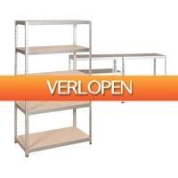 Voordeelvanger.nl: Robuuste metalen stellingkast