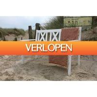Euroknaller.nl: Authentieke wit grenen tuinbank
