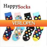 Dennisdeal.com 3: Kleurrijke Happy Socks