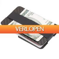Uitbieden.nl: Koolstofvezel kaarthouder met geldclip