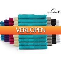 iBOOD.com: 9 x Seashell Hotel Collection handdoek