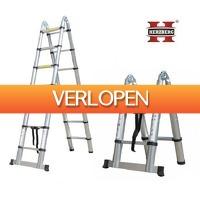 Grotekadoshop.nl: Herzberg telescopische ladder voor doe-het-zelvers