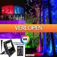 Multismart.nl: LED RGB schijnwerper