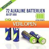 Slimmedealtjes.nl: 72 stuks alkaline batterijen