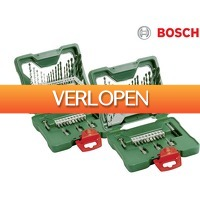 iBOOD DIY: 2 x Bosch X-Line 33-delige bits- en borenset
