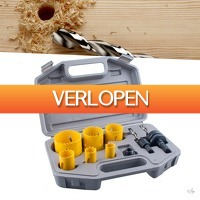 Wilpe.com - Tools: Bi-Metaal gatenzaagset