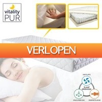 One Day Only: 7-zone traagschuim pocketveermatras