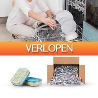 Dealwizard.nl: 500 stuks 3-laags vaatwastabletten