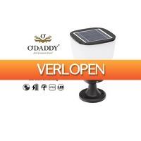 Stuntwinkel.nl: Luxe LED solar sokkel tuinlamp Izar