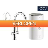 iBOOD.be: Grohe Red New Duo kokendwaterkraan