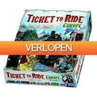 Gadgetknaller: Ticket to Ride Europe bordspel