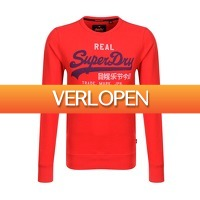 Onedayfashiondeals.nl 2: Superdry - Vintage Logo Duo Lite - Yacht Club Red