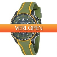 Watch2day.nl: Spinnaker Del Sol Solar Power Chronograph   SP-5031-04