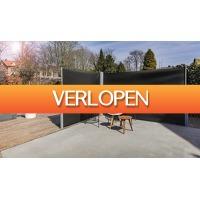 ActievandeDag.nl 1: Dubbel uittrekbaar windscherm