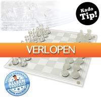 voorHEM.nl: Chic glazen schaakspel