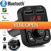 Priceattack.nl: Bluetooth Carkit FM transmitter