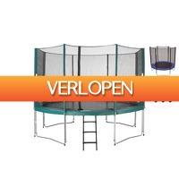 iBOOD Home & Living: PWS trampoline met veiligheidsnet