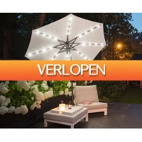 Groupdeal 2: LED-parasol