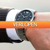 Watch2day.nl: Emporio Armani Chronograph AR2434