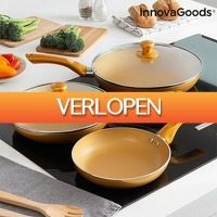 TipTopDeal.nl: InnovaGoods pannenset