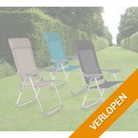 Comfortabele opvouwbare tuin-/ campingstoelen