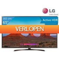 iBOOD.be: LG 65 inch 4 K LED-TV