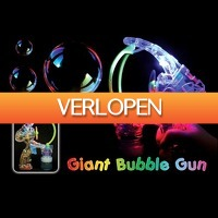 Gadgetknaller: LED Giant Bubble Gun