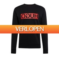 Onedayfashiondeals.nl 2: Hugo Boss - Dicago Logo Sweat - zwart