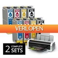 GroupActie.nl: 2 sets cartridges