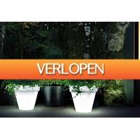 Priceattack.nl: Solar lichtgevende bloempot
