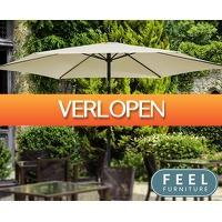 Telegraaf Aanbiedingen: Feel Furniture parasol